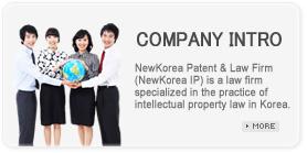 뉴코리아 국제특허법률사무소 회사소개, 고객지원센터, 지식재산권출원,지식재산권관련분쟁심판및소송,특허맵,지식재산권,라이센싱협상